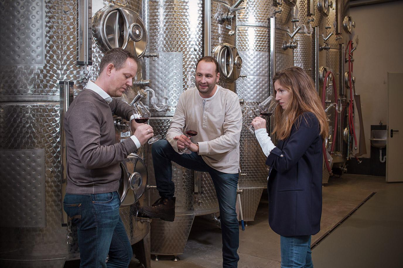 Over Bossche Wijnkoperij - foto bij wijnfabrikant